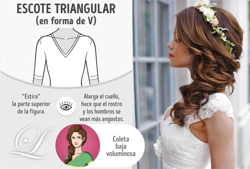Guia para elegir le mejor peinado segun el estilo de tu vestido