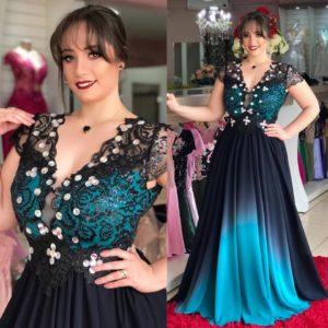 vestidos para gorditas de fiesta 2019