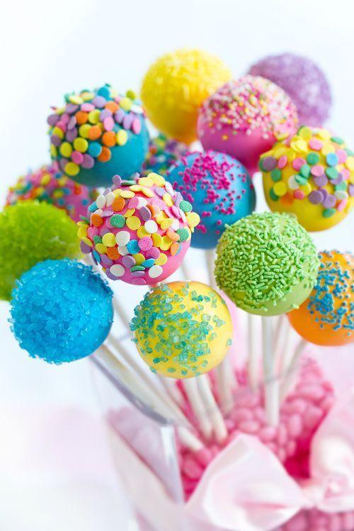 Cake pops para el candy bar