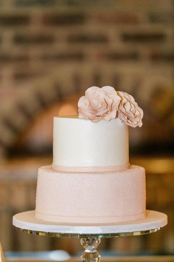 Elige un pastel sencillo de XV años