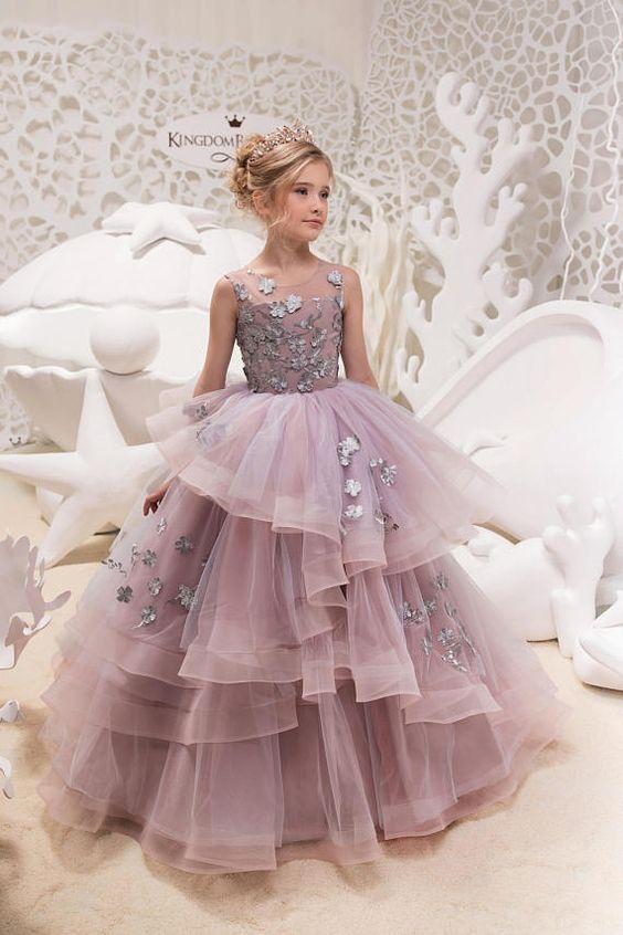 Vestidos de fiesta para niña de 12 años largos