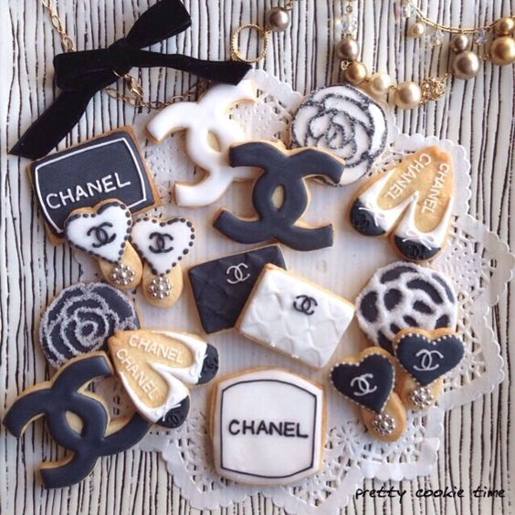 galletas de chanel para candy bar de 15