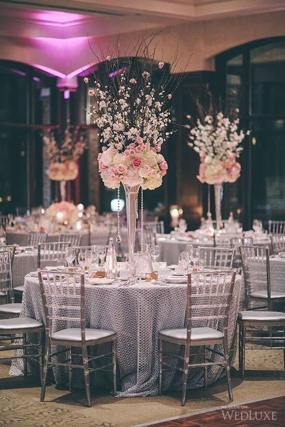 Los centros de mesa mas bonitos para fiestas de xv años