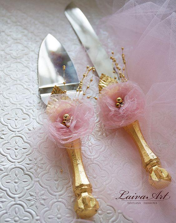 Cuchillos de quinceañera - como decorarlo