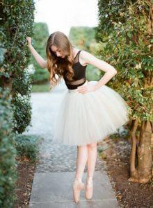 tutu para quinceañera tema bailarina