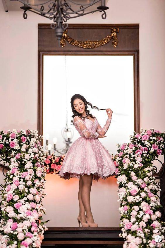 vestido para 15 años con tema de bailarina