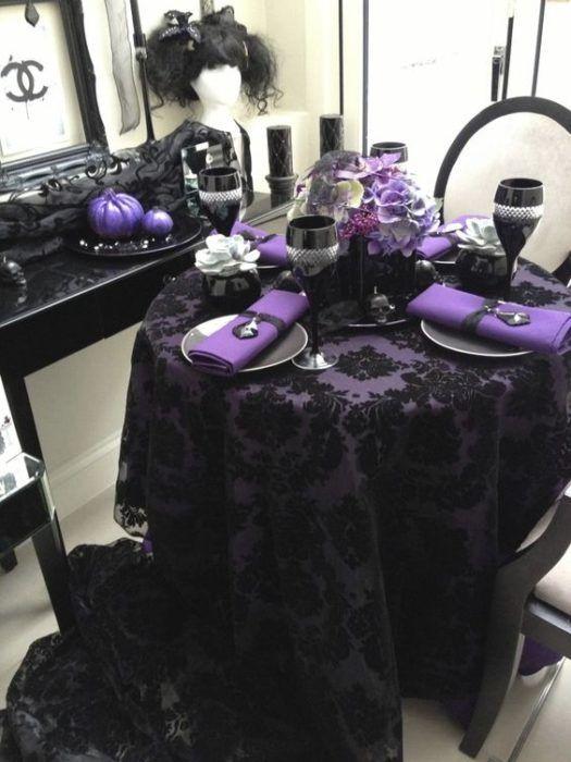 ideas modernas para quinceañera tematica halloween