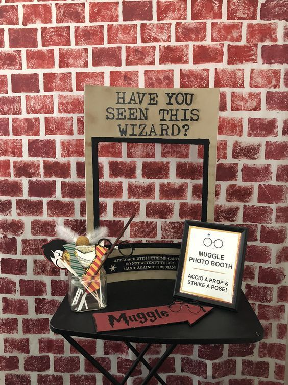 backdrops para fiesta de quinceañera tema harry potter