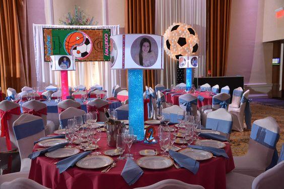 ideas para quinceañera tematica de futbol
