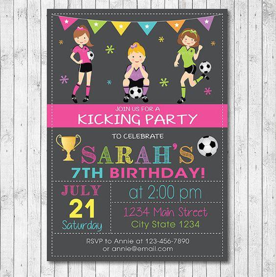 invitaciones para 15 años tema futbol