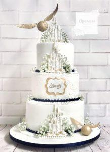 pastel para quinceañera de harry potter