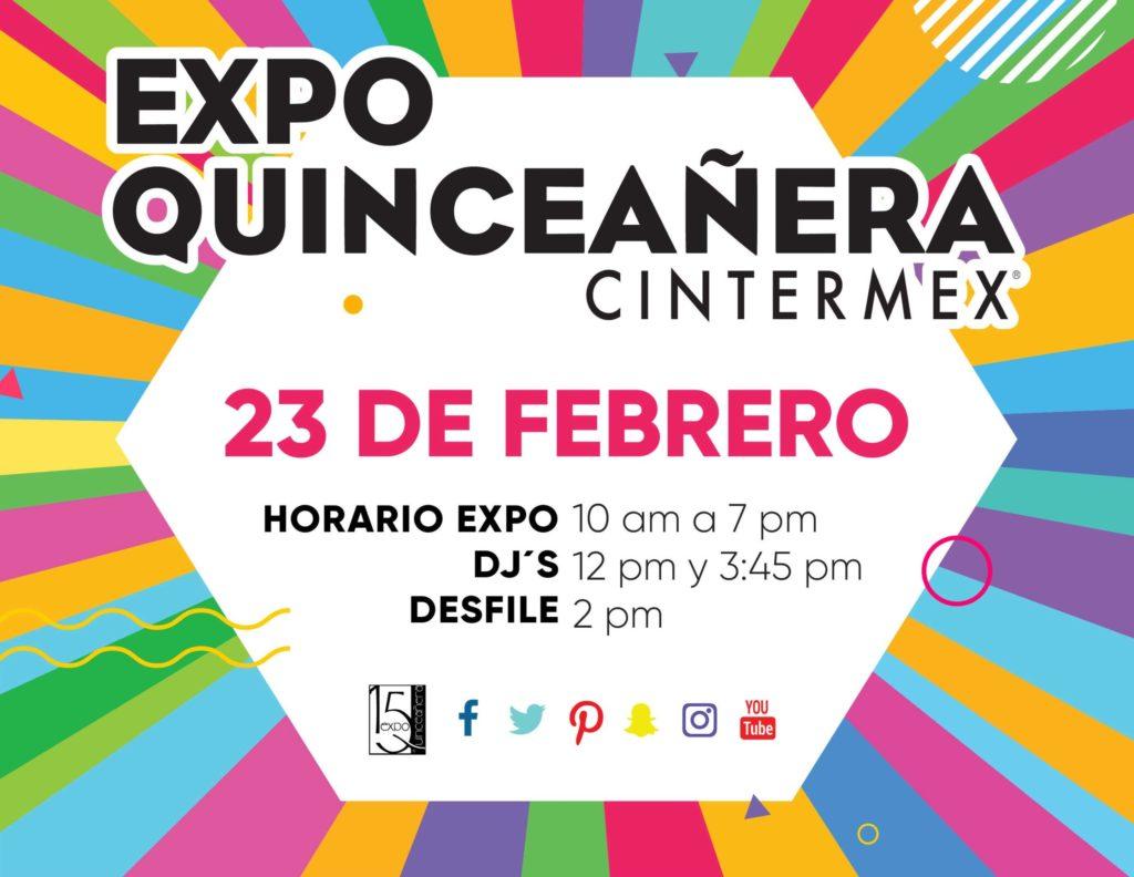 EXPO QUINCEAÑERA CINTERMEX