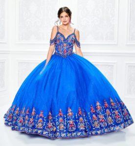 Vestido de XV años color del año clasic blue - Azul Clasico