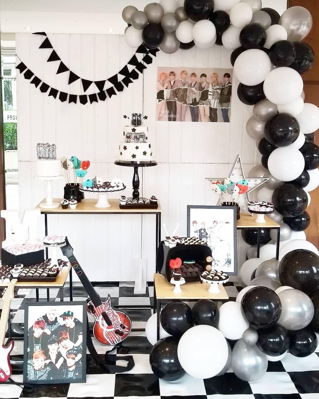Fiestas de cumpleaños de bts