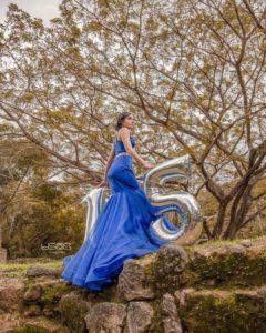 Vestidos corte de sirena para quince años