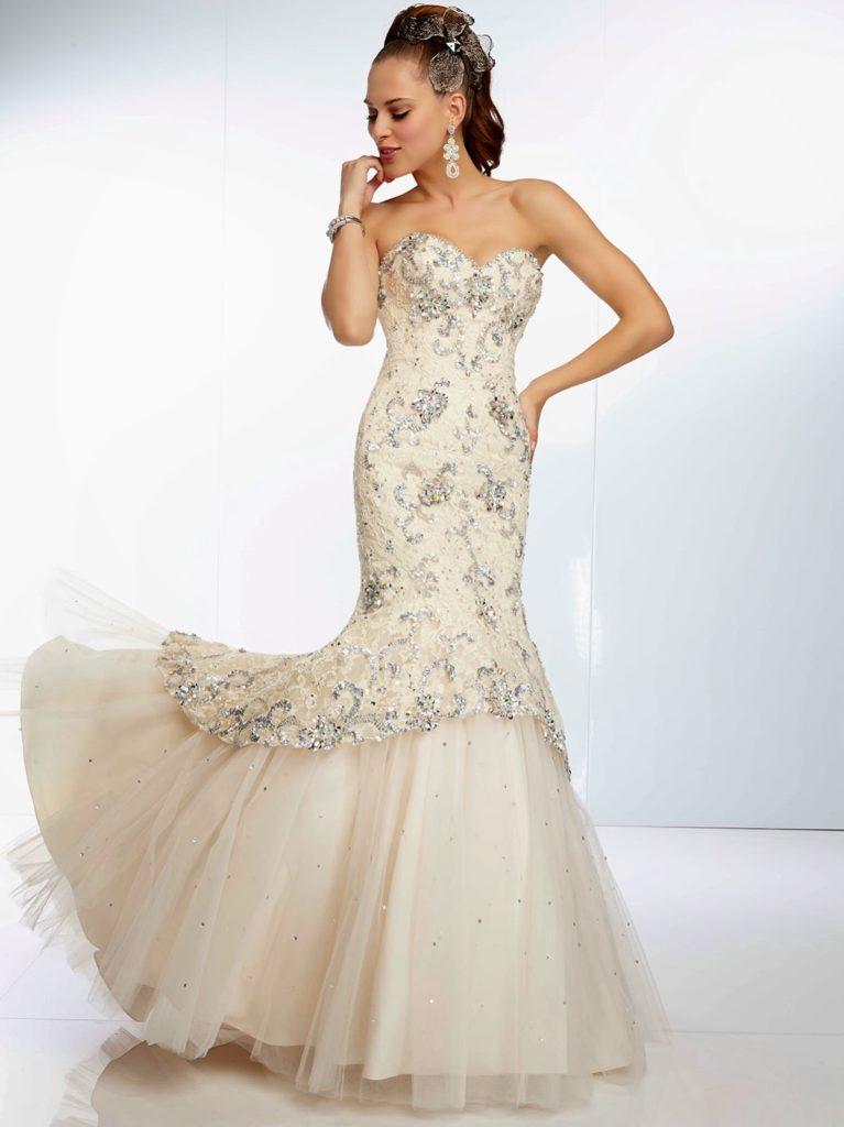 Recomendaciones de vestidos con diseño de sirena