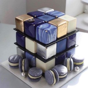 Pasteles cuadrados para quinceañeras