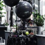 Fiesta de 15 años blanco y negro