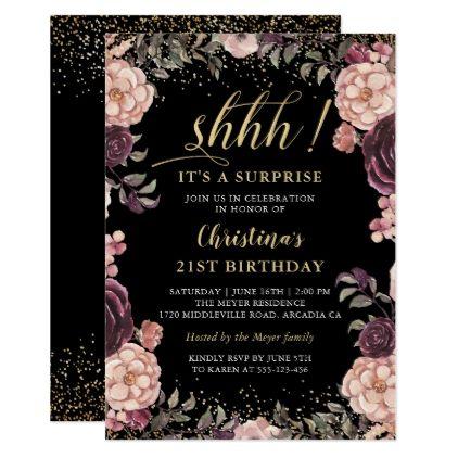 Invitaciones para fiesta de 15 años temática blackpink