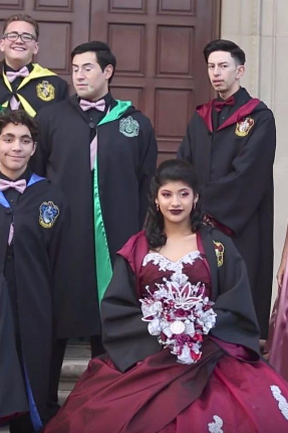 Vestidos De 15 Años De Harry Potter