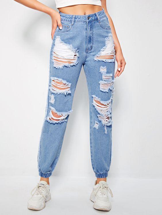 Pantalones shein para niñas