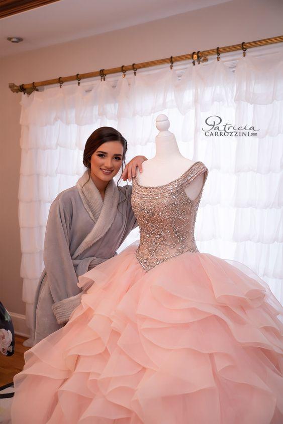 Elección del vestido de quince años