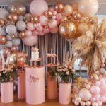 Decoraciones con globos para 15 años