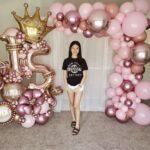 Arreglos con globos gigantes para 15 años