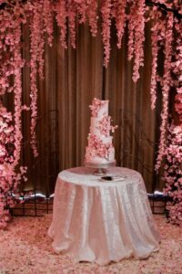 Ideas para decorar la mesa del pastel de la quinceañera