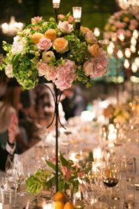 Ideas de arreglos florales para 15 años elegantes