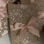 Invitaciones para xv años rose gold