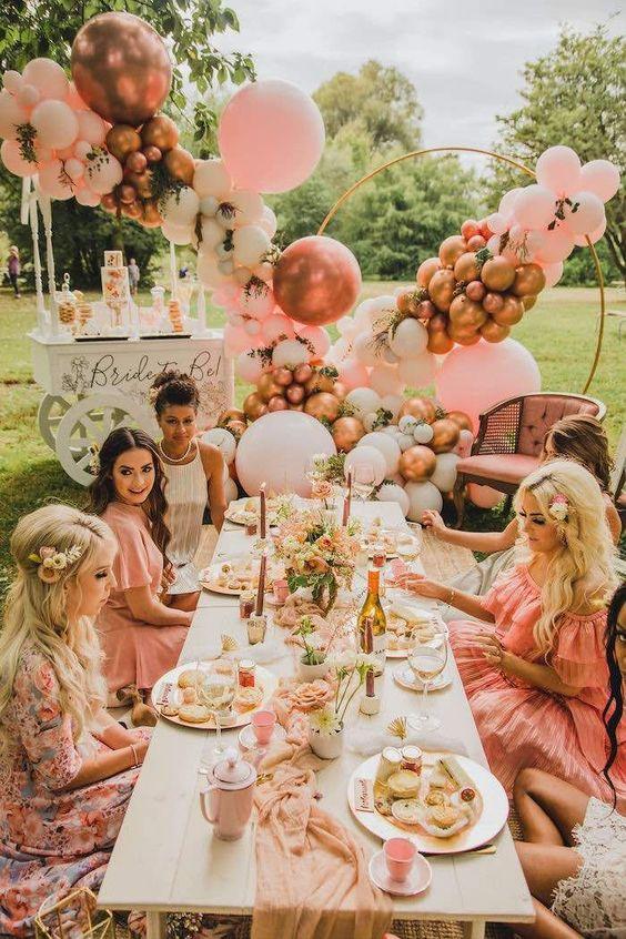 Fiesta de quince estilo picnic