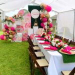 Centros de mesa para xv años estilo picnic